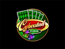 Играйте на деньги в Cyber Stud Poker онлайн
