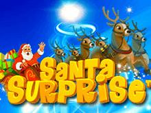 Играйте в игровом зале в популярный автомат Santa Surprise