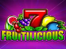 Играйте в аппарат Fruitilicious на популярном сайте игрового зала